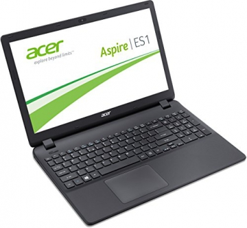 Acer Aspire ES 15 ES1-512-C1YL 39,6 cm (15,6 Zoll HD) Notebook (Intel Celeron N2940, 4GB RAM, 500GB HDD, Intel HD Graphics, DVD, Win 10 Home) schwarz