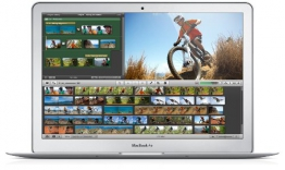 Apple MacBook Air 29,46 cm (11,6 Zoll) Notebook (Intel Core i5 4250U, 1.3GHz, Intel HD Graphics 5000, 4GB RAM, 128GB Flash-Speicher) - Modell Juni 2013 - 1