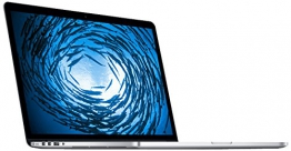 Apple MacBook Pro MJLQ2D/A 39,1 cm (15,4 Zoll) Notebook (Intel Core i7 4770HQ, 2,2GHz, 16GB RAM, 256GB HDD, Intel Iris Pro, Mac OS) weiß - 1