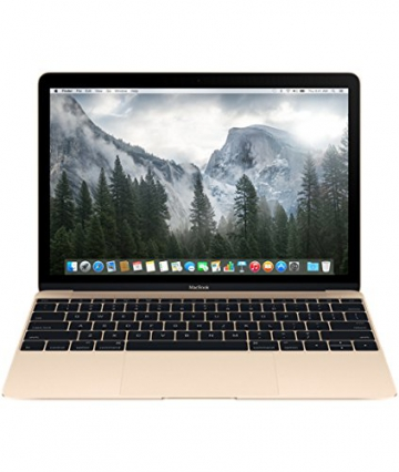 Apple MacBook Retina MK4M2D/A 30,4 cm (12 Zoll) Notebook (Intel Core M, 1,1GHz, 8GB RAM, 256GB SSD, Intel HD 5300, Mac OS) gold - 1