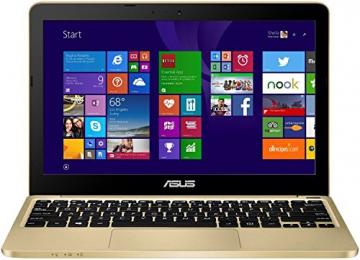 Asus F205TA-FD0066TS 29,5 cm (11,6 Zoll) Notebook (Intel Atom Z3735F, 2GB RAM, 32GB eMMC, HD Graphic, Win 10 Home) gold - 1