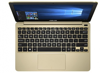 Asus F205TA-FD0066TS 29,5 cm (11,6 Zoll) Notebook (Intel Atom Z3735F, 2GB RAM, 32GB eMMC, HD Graphic, Win 10 Home) gold