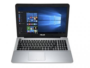 ASUS F555LA-XX1806T 39,6 cm (15,6 Zoll) Notebook (Intel Core i3-4005U, 4GB RAM, 1TB HDD, Intel HD Graphics 4400, DVD-RW, Win10 Home) matt schwarz - 1