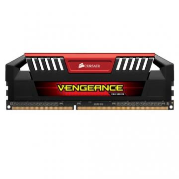 Corsair Vengeance Pro Rot 16GB (2x8GB) DDR3 1600 MHz (PC3 12800) Desktop Arbeitsspeicher (CMY16GX3M2A1600C9R)