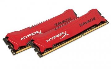 HyperX Savage HX316C9SRK2/8 Arbeitsspeicher 8GB (1600MHz, CL9) DDR3-RAM Kit (2x4GB) - 1