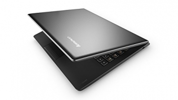 Lenovo 100 35,6 cm (14 Zoll HD) Notebook (Intel Celeron N2840, 2,6GHz, 2GB RAM, 250GB HDD, Intel HD, DOS) schwarz