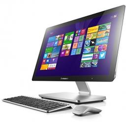 Lenovo A540 60,5cm (23,8 Zoll FHD LED) All-in-One Desktop-PC (Intel Core i5-4258U, 2,4GHz, 2,9GHz 8GB RAM, Hybrid 1 TB HDD (8GB SSHD), NVIDIA GeForce GT840A / 2 GB, Touchscreen, Win 8.1) silber - 1