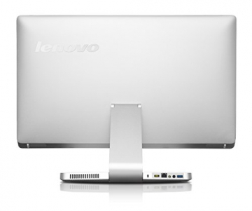 Lenovo A540 60,5cm (23,8 Zoll FHD LED) All-in-One Desktop-PC (Intel Core i5-4258U, 2,4GHz, 2,9GHz 8GB RAM, Hybrid 1 TB HDD (8GB SSHD), NVIDIA GeForce GT840A / 2 GB, Touchscreen, Win 8.1) silber