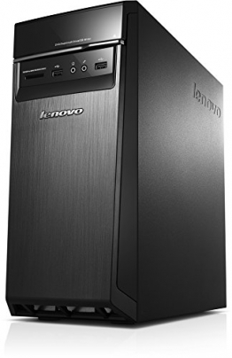 Lenovo H50-50 ES Desktop-PC (Intel Core i3-4160, 3,6GHz, 8GB RAM, Hybrid 1TB HDD + 8GB SSHD, NVIDIA GeForce GTX 750TI/2GB, DVD, Win 8.1) schwarz - 1