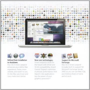 Mac OS X Snow Leopard v. 10.6 Update (Mac DVD)