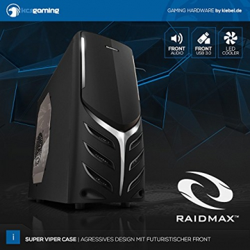 Computer Komplettsystem AMD A10-7870K 4×3.9 GHz | 8GB DDR3-1866 | 1000 GB | AMD Radeon R7 Grafik | DVD | MSI | Sound | WLAN + LAN | Cardreader | Maus+Tastatur | Win10
