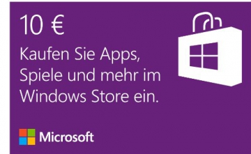Windows Store - 10 EUR Guthaben [Online Code] - 1