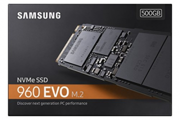 500GB Samsung 960 EVO m. 2 PCIe NVMe interne Solid-State SSD